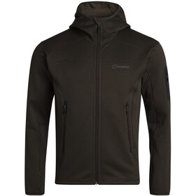 Berghaus Pravitale MTN 2.0 Hooded Fleece Jacket Men, olijf